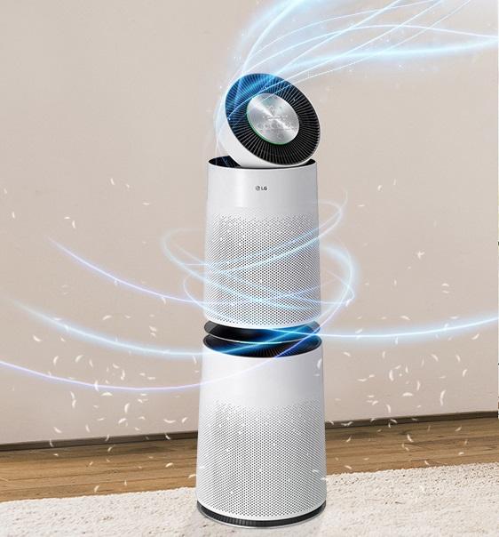 Oczyszczacz-powietrza-LG-AS95GDWV0-AEU-filtracja-360